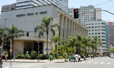 Biblioteca Pública do Paraná comemora 162 anos com programação especial. Foto: José Gomercindo/ANPr