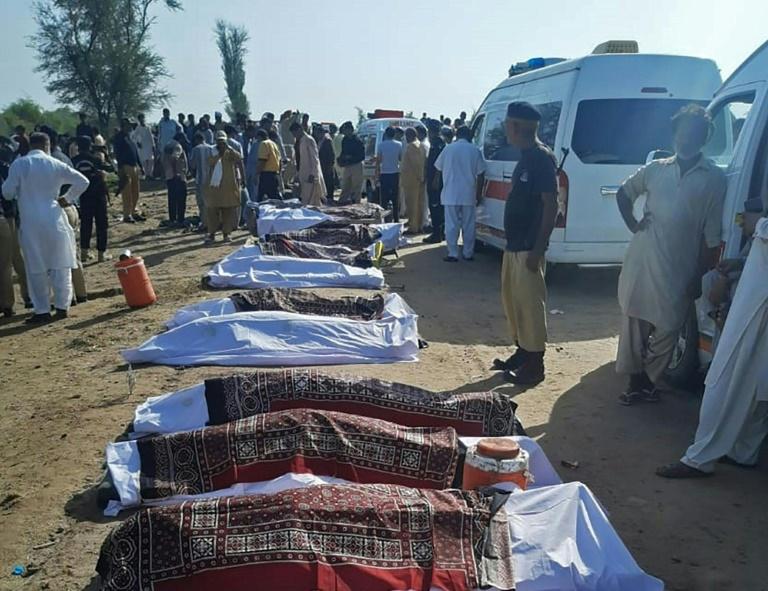 Acidente de trem deixa pelo menos 36 mortos no Paquistão – Portal Rondon
